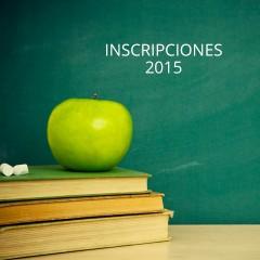 Inscripciones 2015
