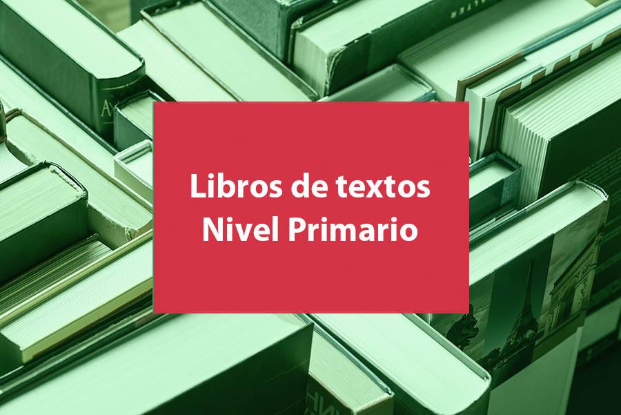 Libros de textos solicitados para Nivel Primario