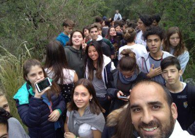 selfie - vida en la naturaleza