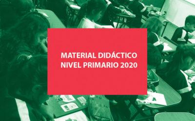 Material didáctico 2020 – Nivel Primario