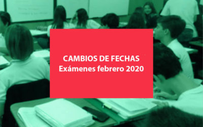 Mesas de exámenes Febrero 2020 – Nivel Secundario
