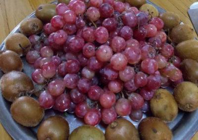 uvas bandeja