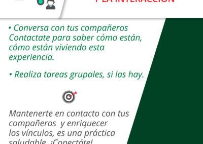 7 - FOMENTAR EL CONTACTO