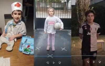 Actividades escolares realizadas en casa