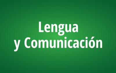 Lengua y Comunicación