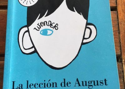WONDER. LA LECCION DE AUGUST de R.J. PALACIO